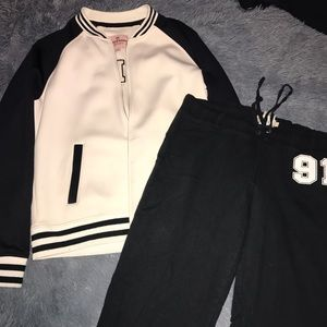 Juicy Couture Jackets & Coats - 💕like new🆕Juicy couture bomber jacket w/pants